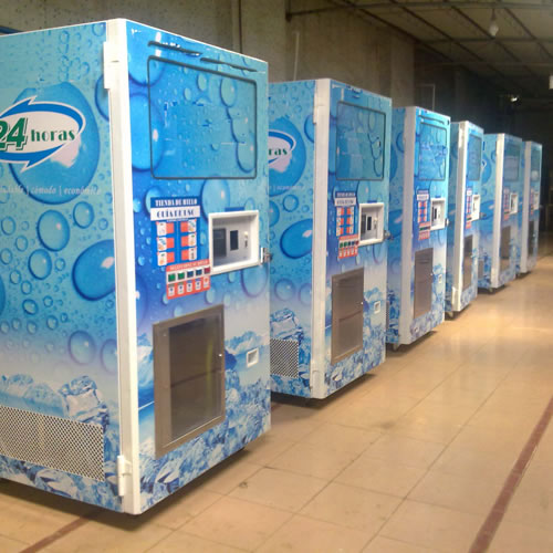 Ice Vending Machinery,China Automatic Bagging Ice Vending Machine