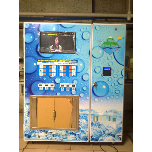 IC Card Ice Vending Machine
