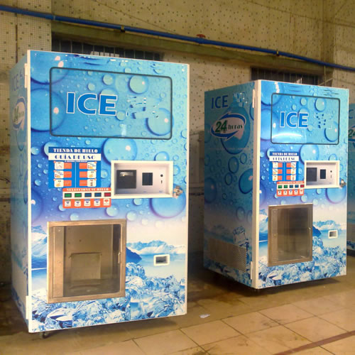 Coin Operated Ice Vending Machine